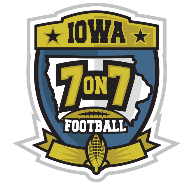 Iowa 7v7 Football Logo