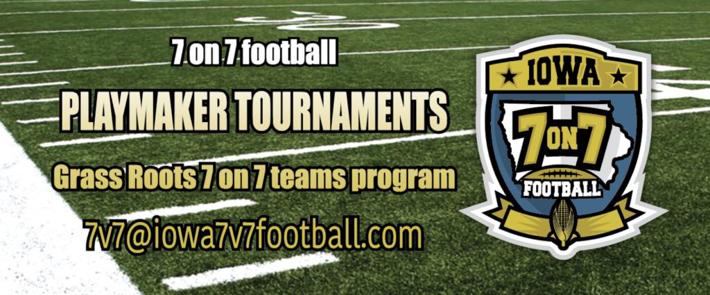 Iowa 7v7 football Banner